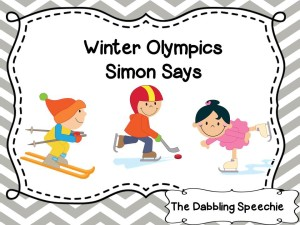 Winter Olympics Simon Says