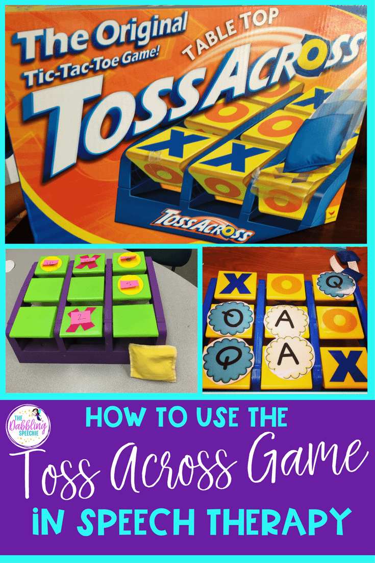 Toss Across Game In Speech Therapy