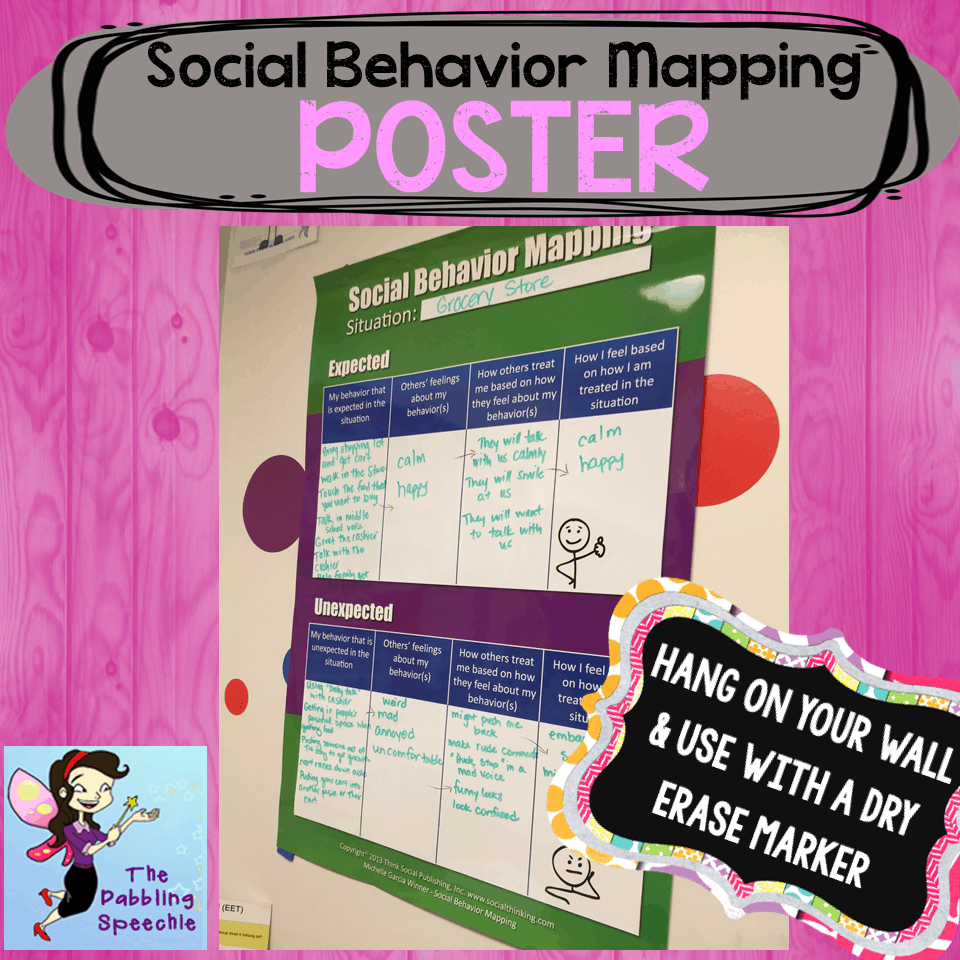 social behavior map - thedabblingspeechie