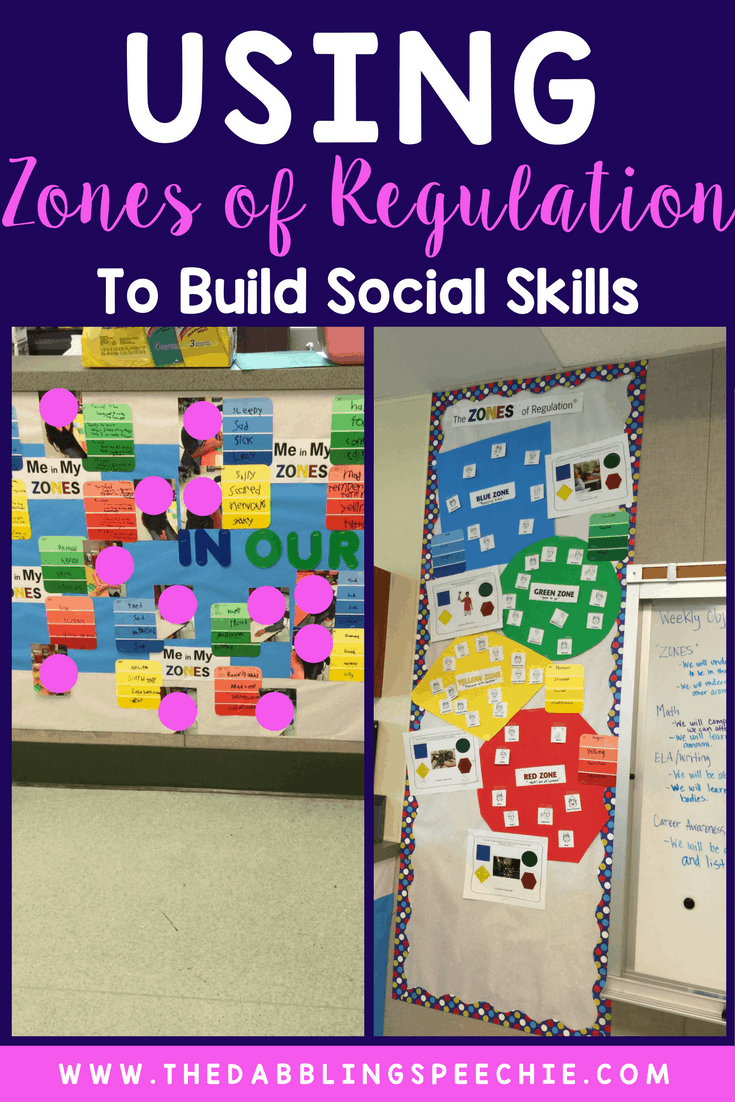 Zones of Regulation Activities to Build Social Skills