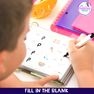 Use articulation flipbooks to increase repetitions and progress with your student's goals.