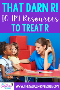 speech therapy activities for treating r. Once you get an /r/ established, there are some great activities on TPT.