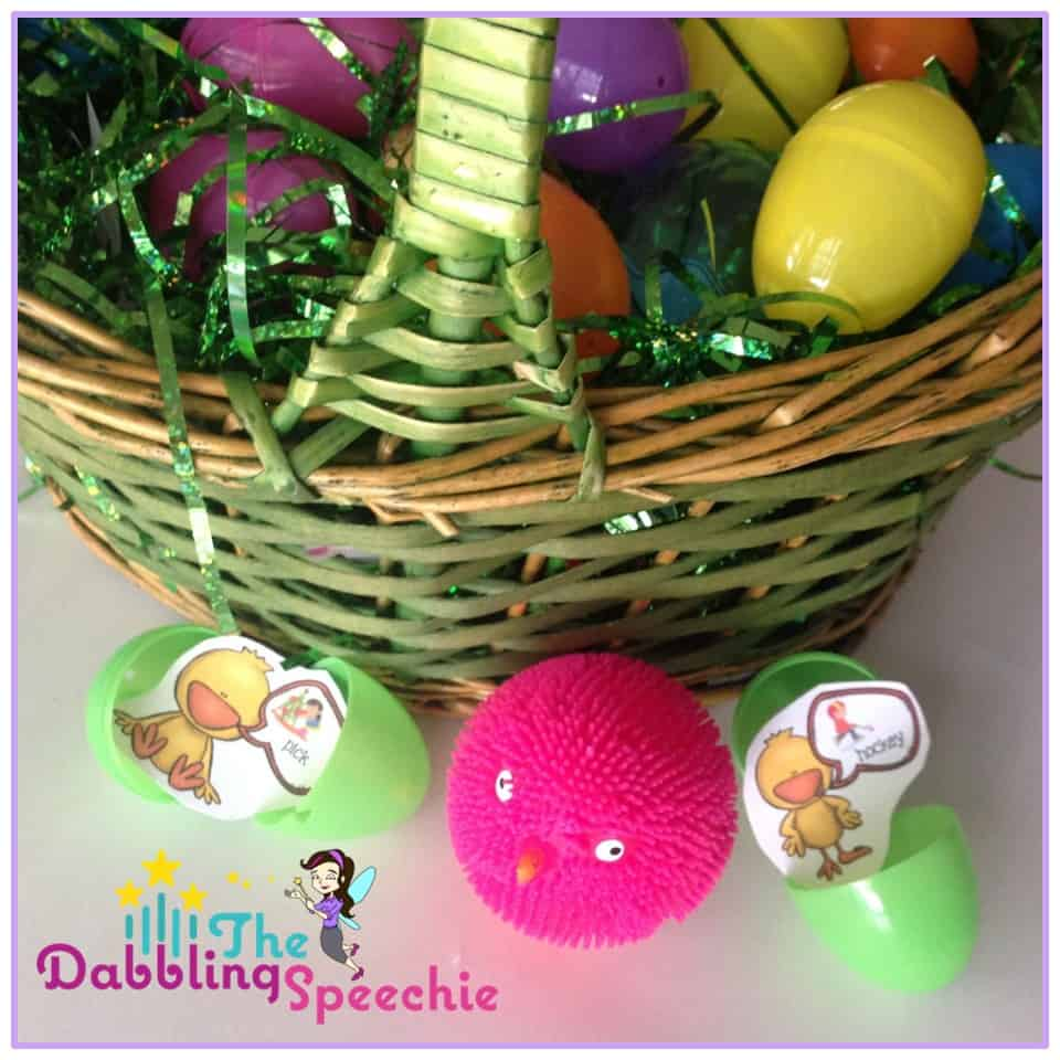 Easter Sensory Bins For Speech Therapy