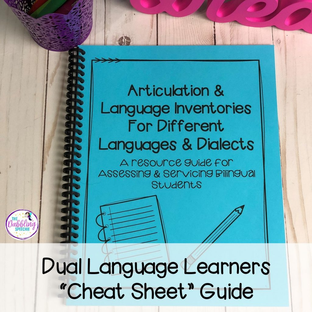 speech assessment tools for speech pathologists that assess bilingual students