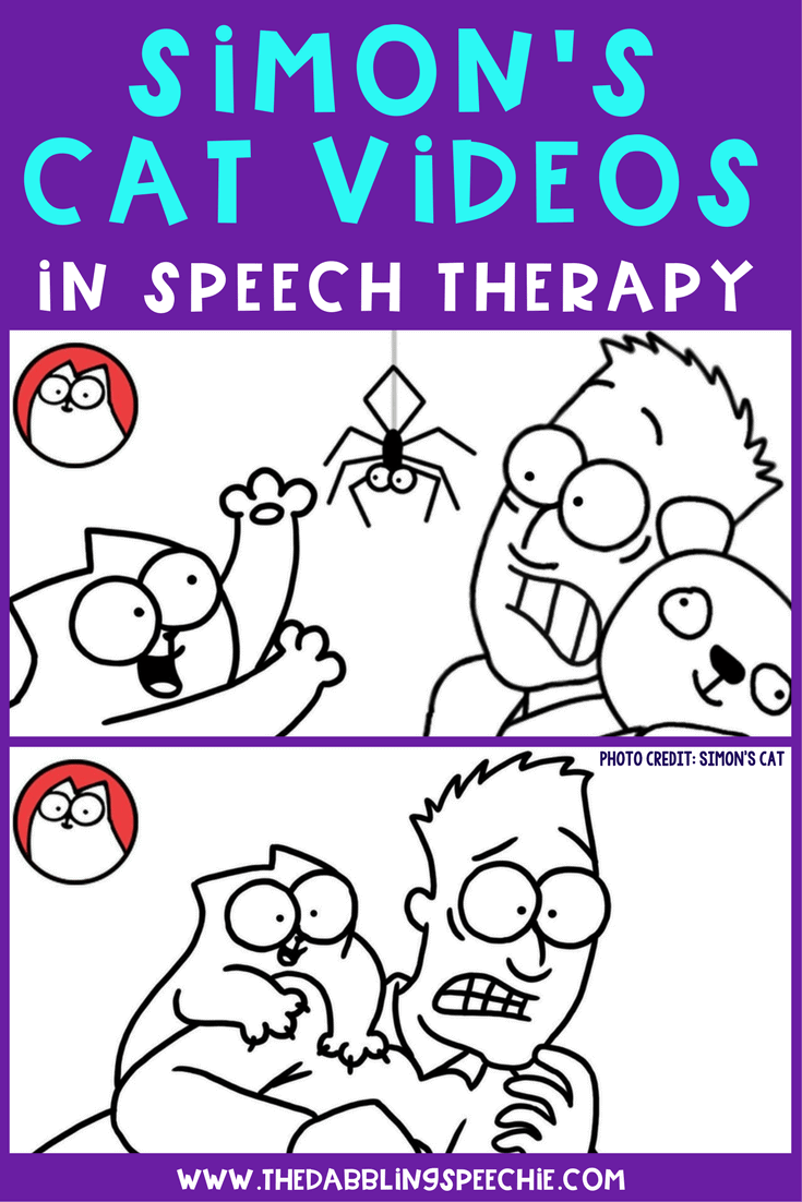 Using Simon's Cat Videos In Speech Therapy