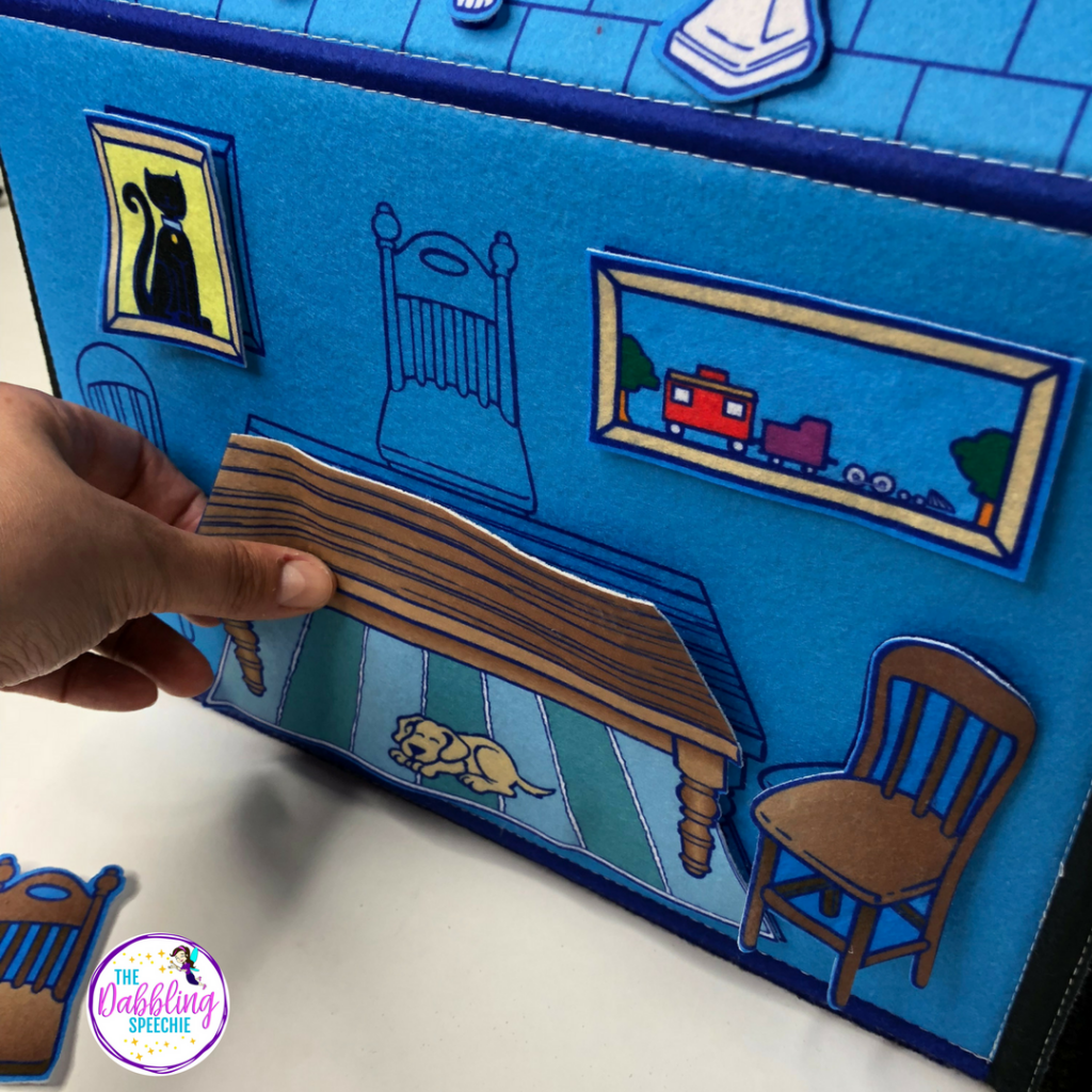 How To Use My Little House In Speech Therapy