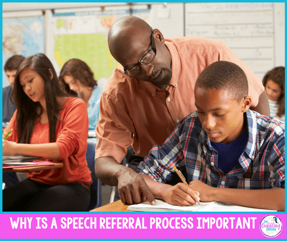 speech referral process and tips to make it work!