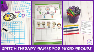 10  Speech Therapy Games for Mixed Groups