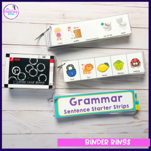 speech therapy office supplies to rock your school year! #schoolslp #slpeeps #speechtherapy #organizedslp