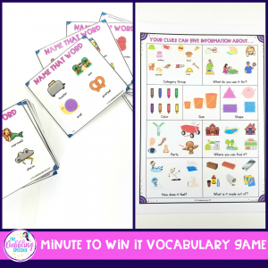 games for mixed groups in speech therapy