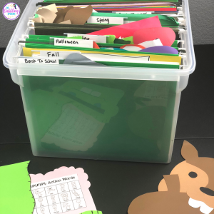 organize your speech materials so you know where your everything is in your speech room. #slpeeps #schoolslp #slp2b #organizedslp #speechtherapy