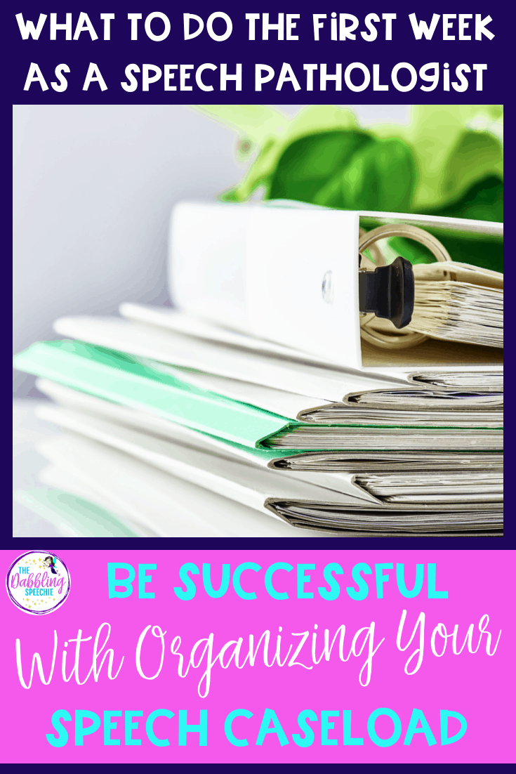 Be Successful With Organizing Your Caseload – Tips For The First Week Back