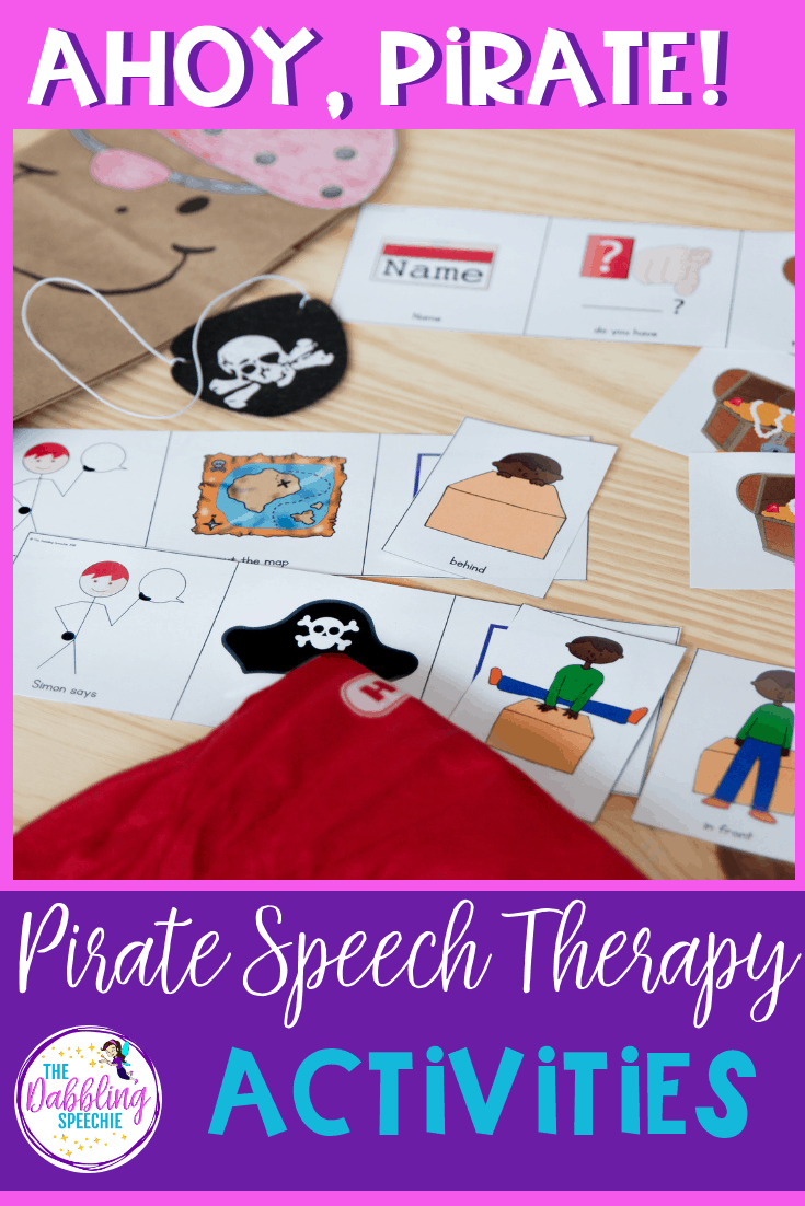 How To Become A Speech Therapist >> Argh Matey Let S Learn How To Be A Pirate In Speech