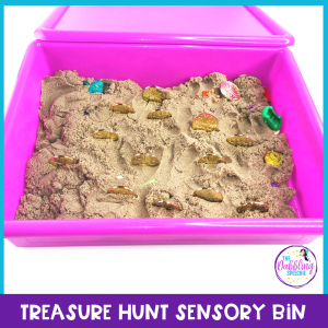 Ahoy there mateys! Pirate speech therapy activities to help SLPs plan fun & engaging lessons! Craft ideas, treasure hunt sensory bin, language lessons & book recommendations. #Talklikeapirate #slpeeps #slpsensorybin #sensorybins #craftsforkids #speechtherapy #speechpathology