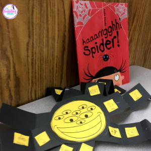 spider activities for speech using engaging spider story books for kids!