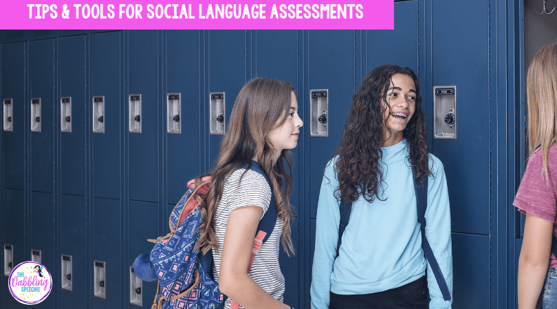 social language assessments