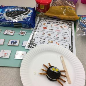 spider activities for speech
