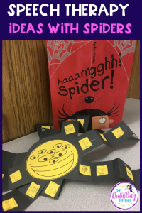 Spooky, Crawly Spider Activities For Speech