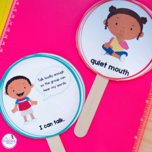 creating behavior routines in speech to maximize your speech sessions. #dabblingslp #slpeeps #slps #schoolslp #speechies #speechtherapy
