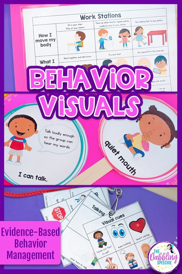 Creating Behavior Routines  & Expectations in the Speech Room