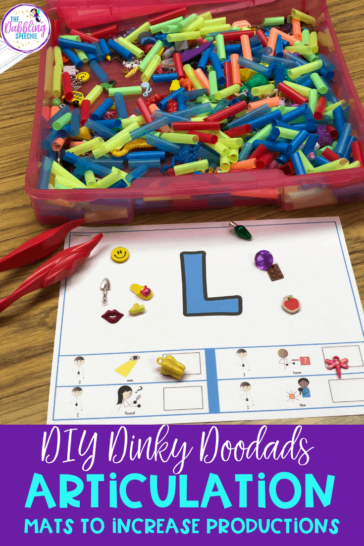 Ways To Use Dinky Doodads in Speech Therapy