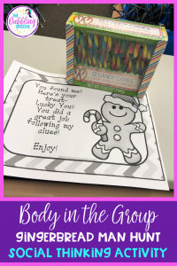 Body In The Group With A Gingerbread Man Hunt