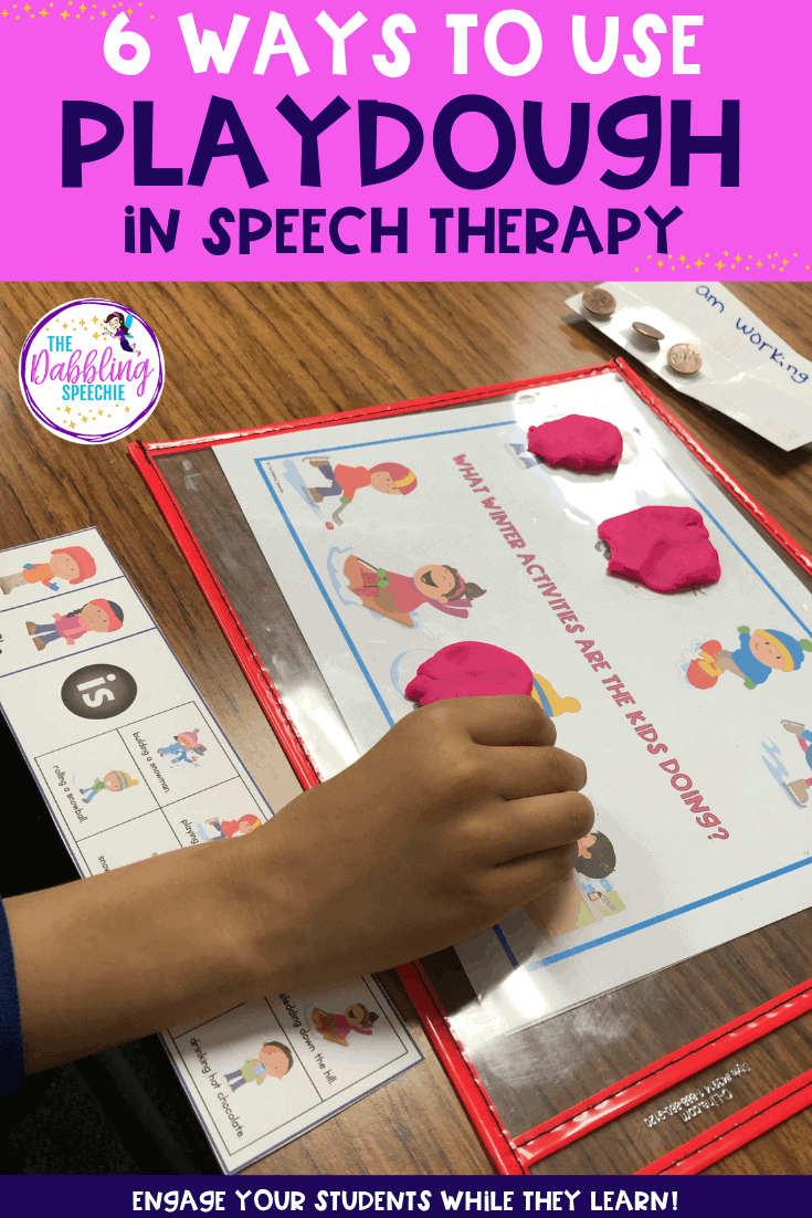 6 Ways To Use Playdough in Speech Therapy
