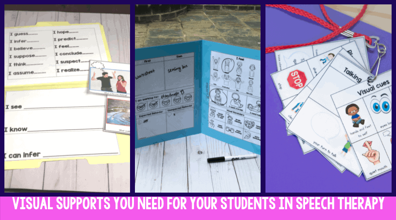 5 Visual Supports Your Speech Students Need
