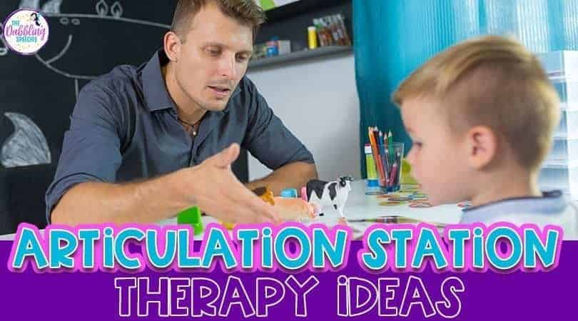 Articulation Stations – Therapy Ideas to Keep Students Motivated