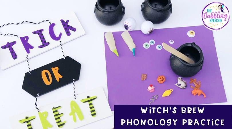 Halloween Phonology with a Witch's Brew!