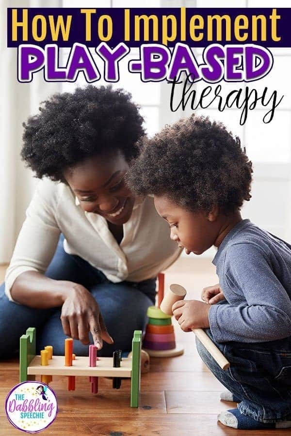 Wondering how to get started with play-based speech therapy? Check out this blog post to see the benefits of play-based speech therapy and how play-based learning can help you plan engaging speech therapy sessions efficiently! #slpeeps #playtherapy #playbasedtherapy #speechtherapy #speechtherapist #cfyslp #slp #ashaigers #speechies #schoolslp #dabblingslp #preschoolslp #pediatricslp