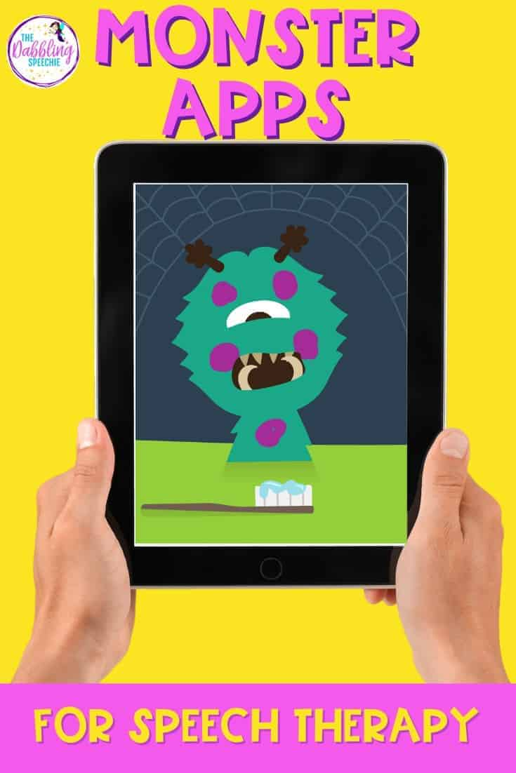 Digital Monster Activities to use with your students in teletherapy to increase engagement.
