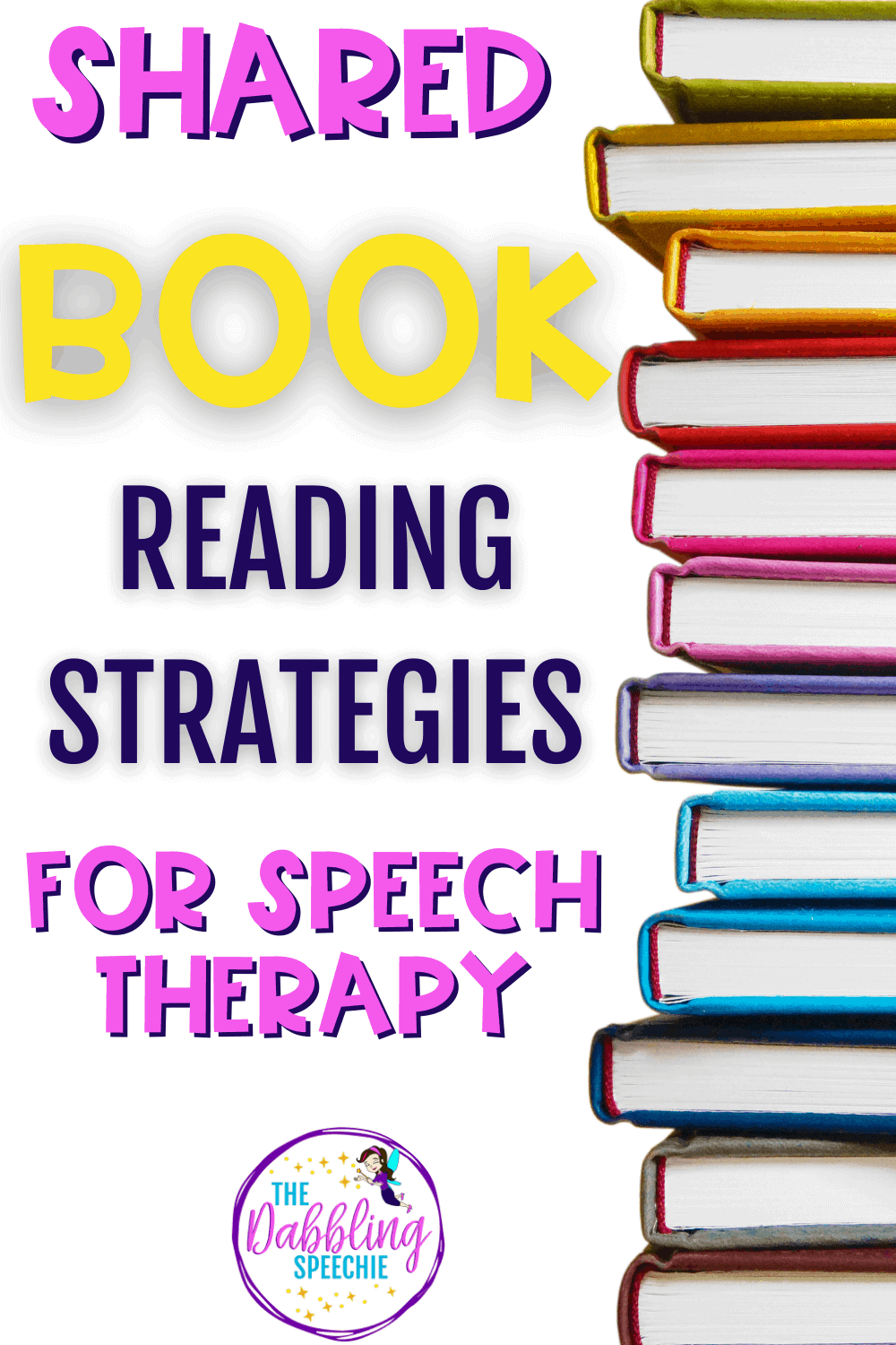 shared book reading strategies in speech therapy to build language skills and increase engagement.