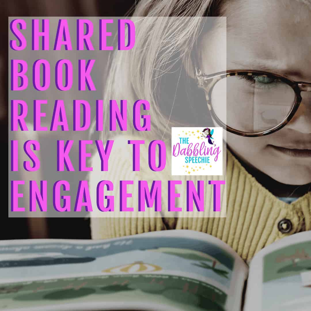 shared book reading strategies speech therapy ideas to increase language skills
