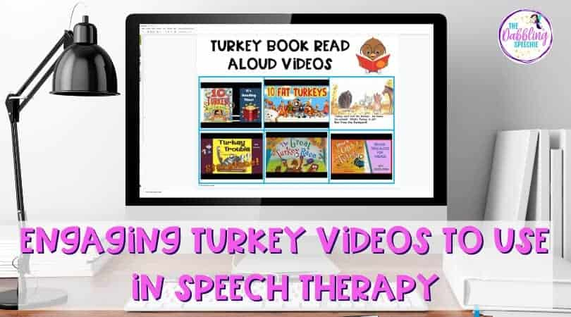 Engaging Turkey Videos to Use in Speech Therapy