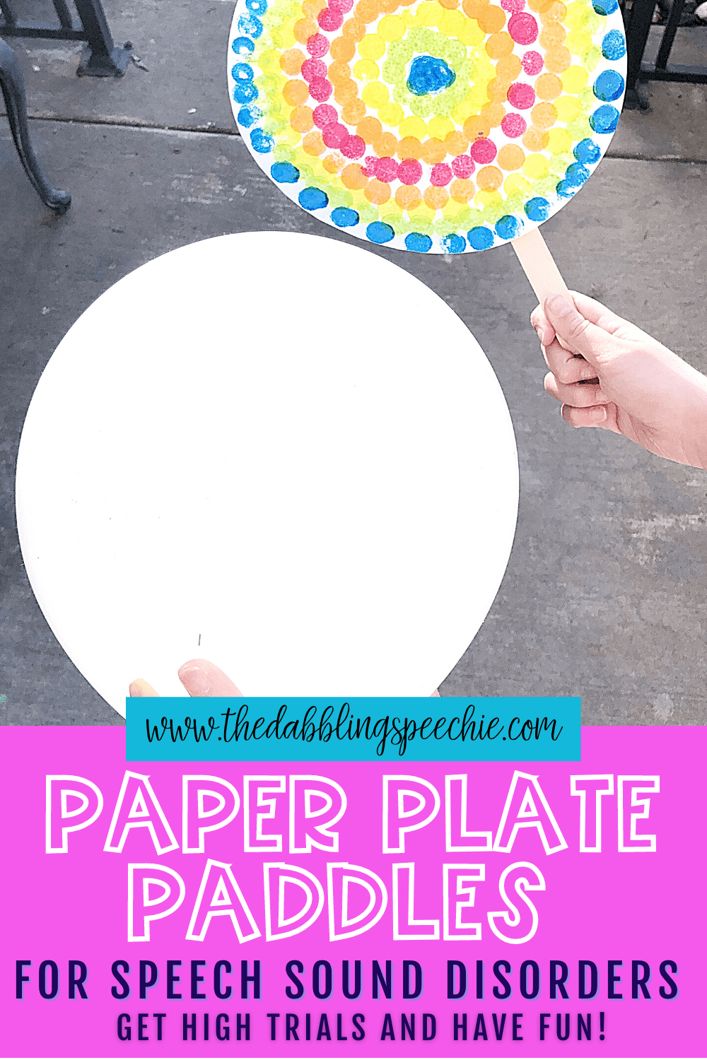 Tips for How to Use the Paper Plate Gumball Craft with Speech Sound Disorders
