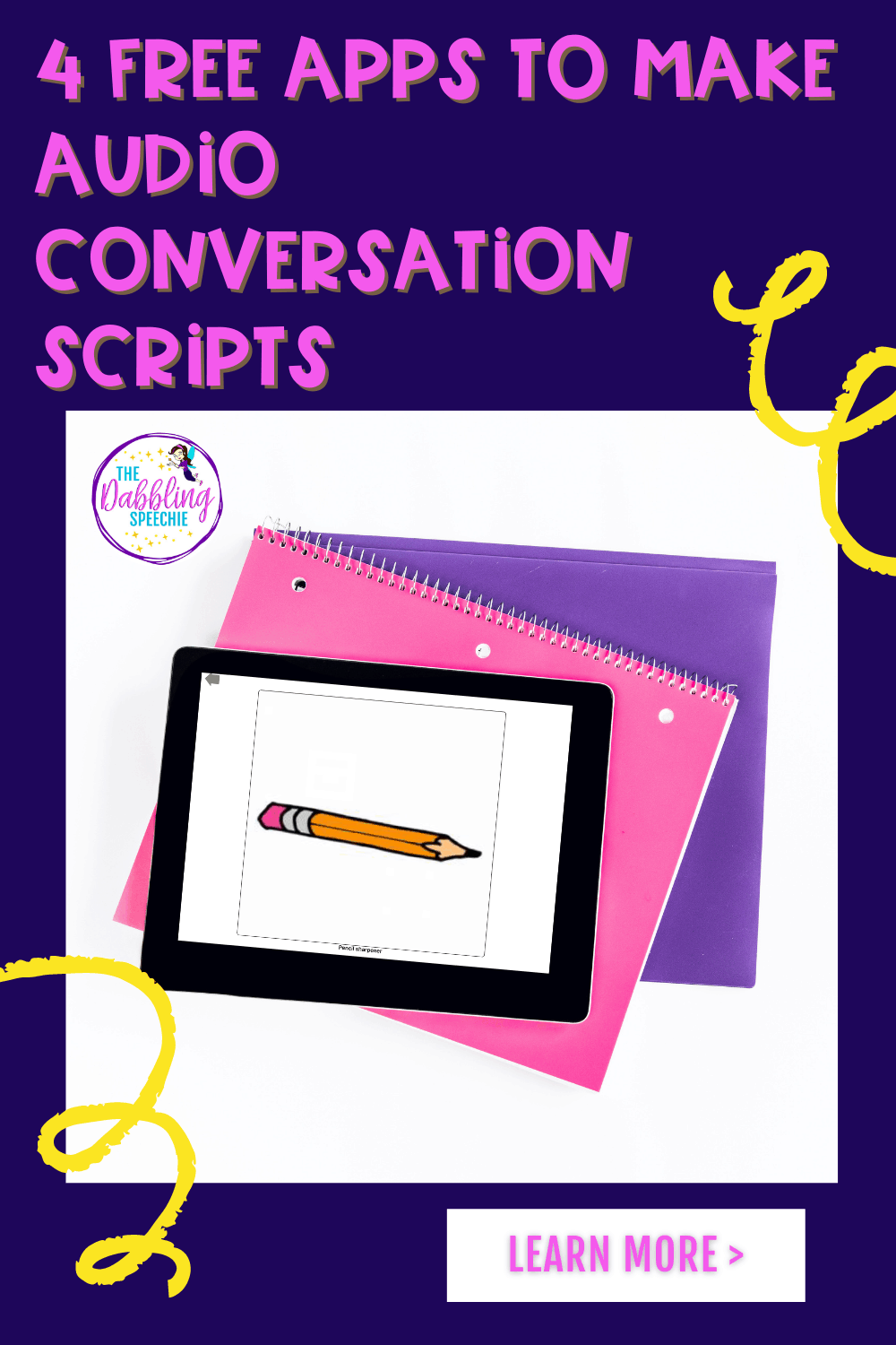Easy to use apps to create audio conversation scripts to help your students engage in communication opportunities.