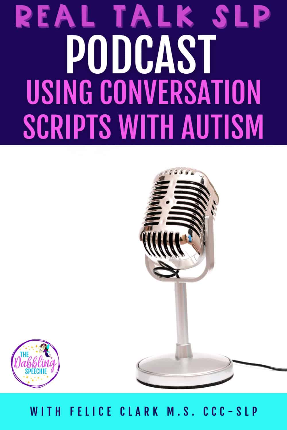 using conversation scripts with Autism to improve communication