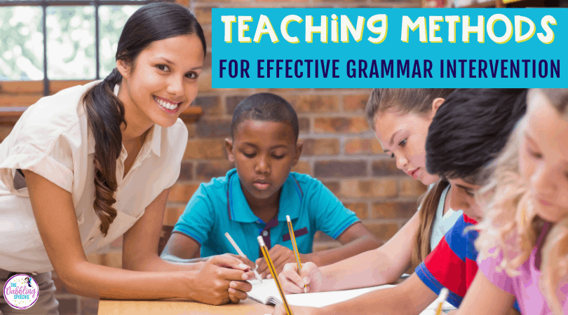 How to use spring vocabulary to teach grammar concepts in speech therapy