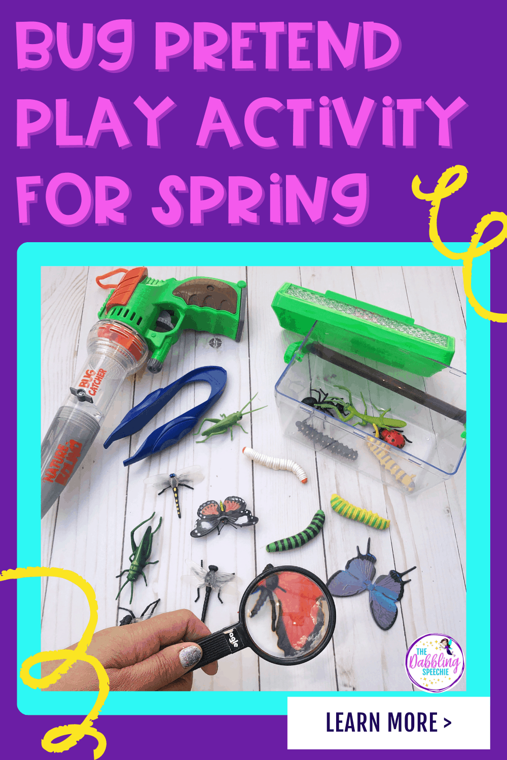 Easy spring play themes that you can use to target a lot of speech and language goals.  Incorporate pretend play for early intervention or language therapy to help your students stay engaged during your speech sessions.