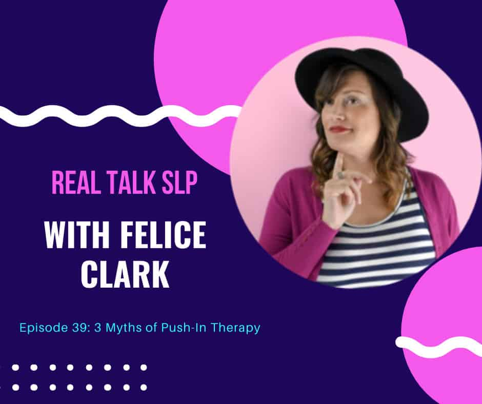 Ep. 39 Three Myths of Push-In Therapy