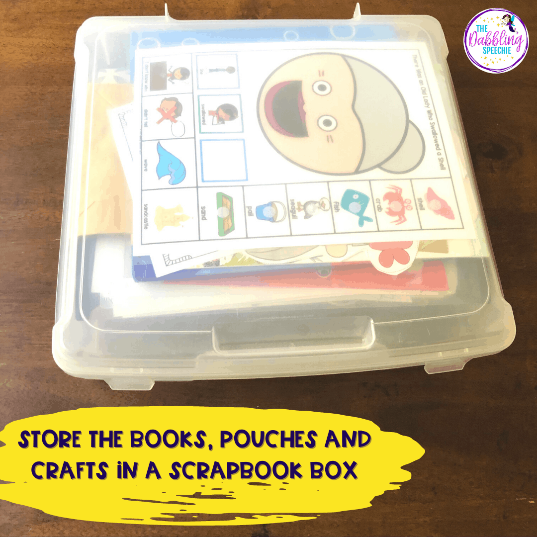 This blog post will tell you all the best tips for organizing your themed therapy materials, so you can quickly find the activities you need!