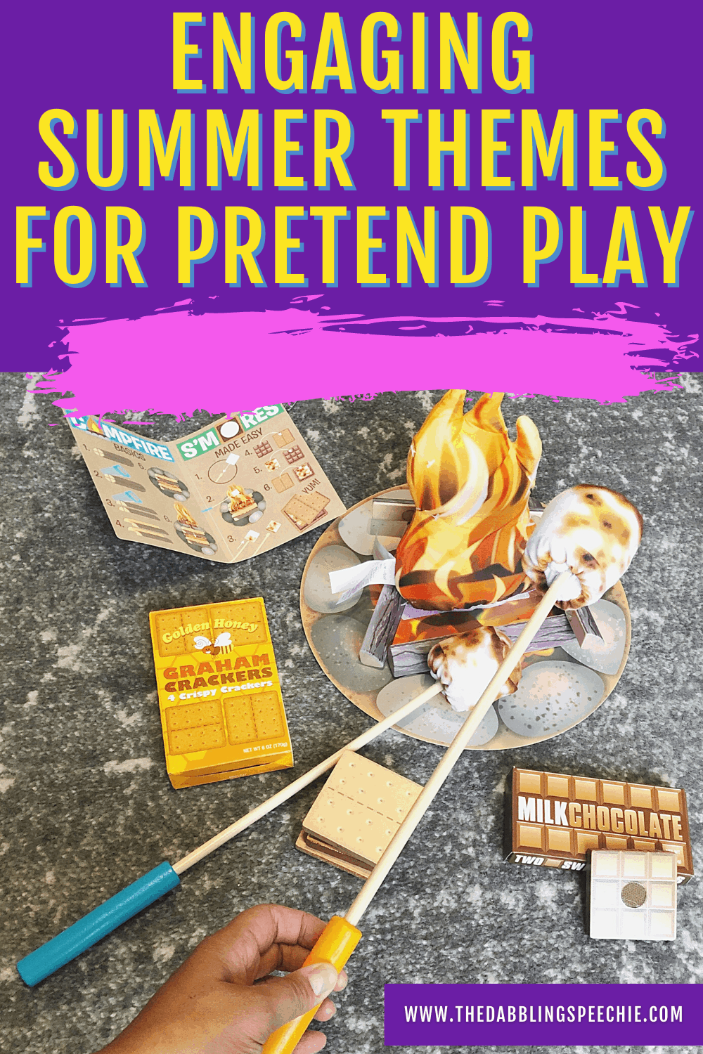 Need some play-based speech therapy ideas with a summer theme? Check out these fun summer play themes you can do during ESY or with private clients.