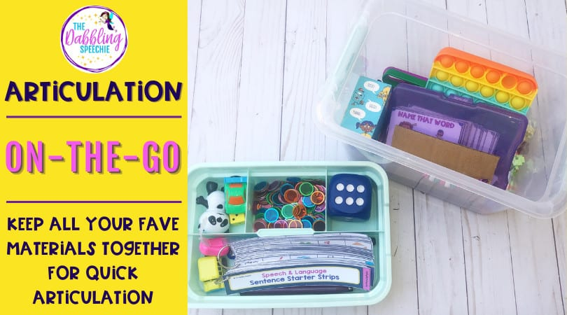 Articulation Organization Containers That Store LOTS of Items