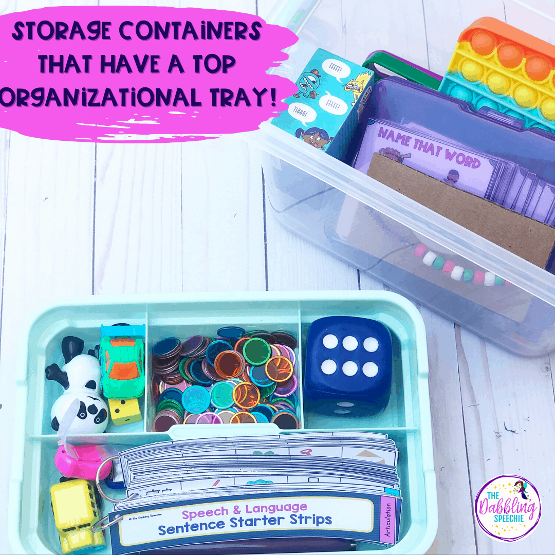 Articulation organization storage that can help you run quick articulation groups with ease!