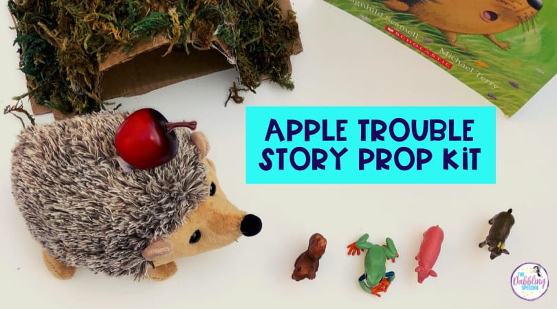 DIY Apple Trouble Story Prop Kit