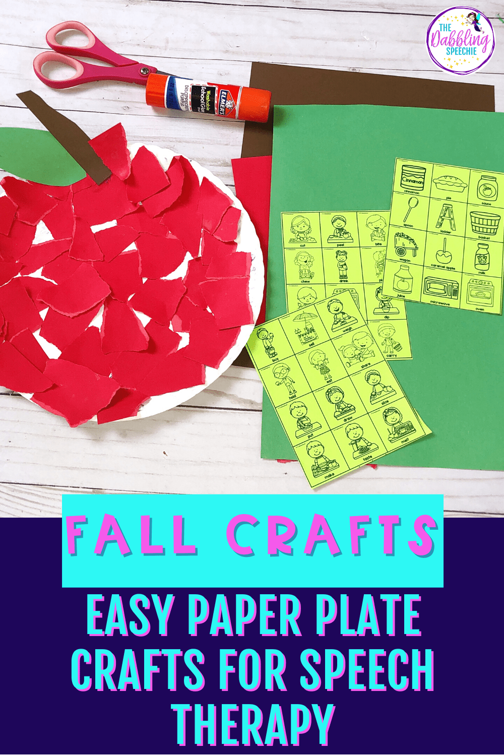 When you need to increase engagement in your speech therapy sessions, using easy to adapt crafts can be just what your students need to get motivated to communicate. Check out these fall paper plate crafts that are easy to adapt for a lot of goals